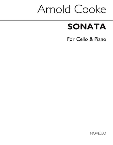 Edgar Thomas Cooke: Cello Sonata With Piano Accompaniment