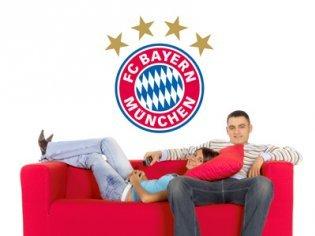 Preisvergleich Produktbild Bayern München Wandtattoo Logo (20 x 21 cm)