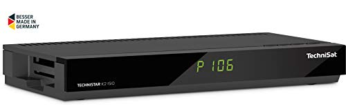 TechniSat TECHNISTAR K2 ISIO Kabel-Receiver mit Internetfunktionalität, PVR-Aufnahmefunktion, UPnP-Livestreaming, Ethernet, schwarz (Digital-tv-dongle)