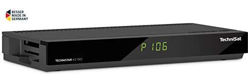 TechniSat TECHNISTAR K2 ISIO Kabel-Receiver mit Internetfunktionalität, PVR-Aufnahmefunktion, UPnP-Livestreaming, Ethernet, schwarz Digital-video-kabel-schwarz Kabel