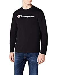 Champion Long Sleeve Crewneck T-Shirt-Institutionals, Homme
