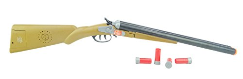 Toyland® 75cm Fusil Double Baril Western avec Effets Sonores et Éjection de Coquilles