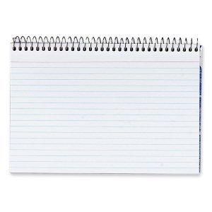 Spiral Index Cards 4 x 6 White 50/Pack