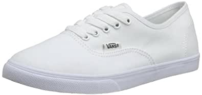 Vans Authentic Lo Pro - Sneakers Basses Mixte Adulte - Blanc (True White/True White) - 34.5 EU (2.5 UK)