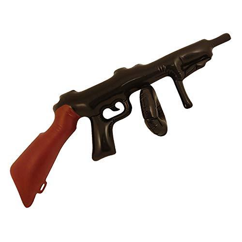 German Trendseller® - 1 x Aufblasbares - Maschinengewehr ┃ 80 cm ┃ Gewehr ┃ Party ┃ Mafia ┃ Soldat ┃ Fasching ┃ Karneval ┃ Aufblasbar ┃ 1 Stück