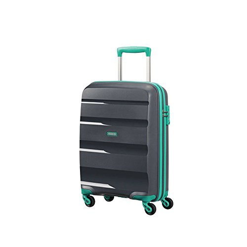 Trolley Cabina 55 Cm Spinner 4 Ruote | American Tourister Bon Air | 85A001-Urban Grey/Mint