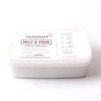 Melt And Pour Jabón Base Blanco Sin SLS - 2Kg - Basa para jabón blanca de fundir y verter - 2kg - Sin SLS. - Biodegradable - 100% base vegetal - Sin parabenos