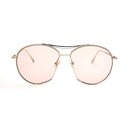 Unisex Sonnenbrille Für sanfte Monster-SonnenbrilleNew Gentle man or Women Monster eyeware V brand JUMPING JACK 02(P) sunglasses for Gentle monster sunglasses -sliver frame pink lens