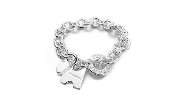 77d556c55cf88 Tiffany & co dog tag bracelet: Amazon.co.uk: Kitchen & Home