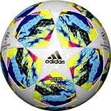 adidas Finale TTRN, Pallone da Calcio Uomo, Top:White/Bright Cyan/Solar Yellow/Shock Pink Bottom:Collegiate Royal/Black/Solar Orange, 5