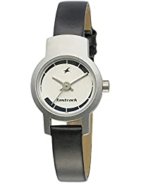 Fastrack Core Analog Black Dial Women's Watch NM2298SL04 / NL2298SL04