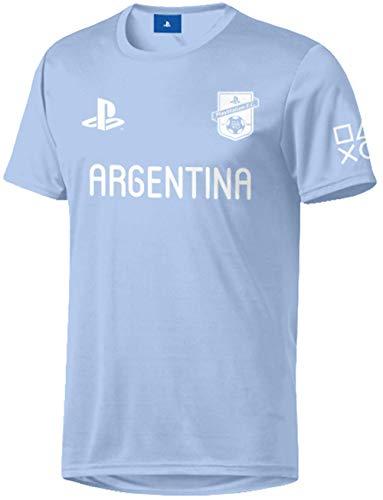 Sony Playstation FC - Argentina - Hombre Oficial Camiseta