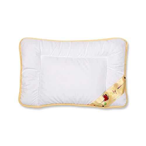 Traumschloss Baby Kinder Kopfkissen Weiß 40 x 60 cm