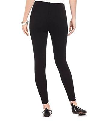 FashGlam Women's Ankle Length Cotton Legging (Black, Free Size)