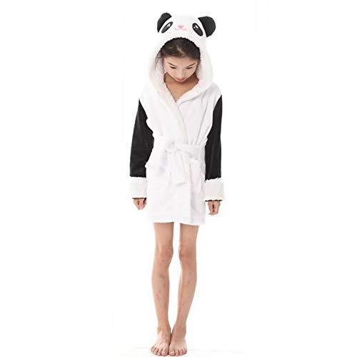 SHANGXIAN Damen Warm Tier Bademantel Mit Kapuze Weich Plüsch Roben Niedlich Nachtwäsche Loungewear,Child,120