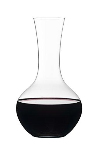 Riedel Vivant Syrah Dekanter, Glasdekanter, Dekantierflasche, Weinkaraffe, Hochwertiges Glas, 1 L,...