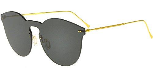 illesteva Sonnenbrillen LEONARD II MASK GOLD/GREY Unisex