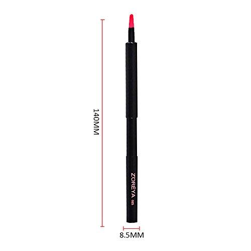 Contever® Pro Maquillage Lip outil Pinceau Pinceaux Cosmetic Curve Petite pour les femmes Brosse retractable (Classique)