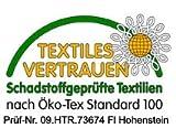 TEXMAXX Wachstuchtischdecke Wachstischdecke Wachstuch Tischdecke abwaschbar (150-01) - 100 x 140 cm - PVC Tischdecke abwischbar, Punkte Muster in Rot-Weiss - 3