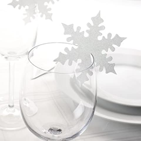 Snowflake Place Card, colore: