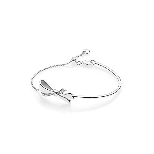 Pandora Stories Brilliant Bow Damen Armreif 925 Sterlingsilber 18,5 cm