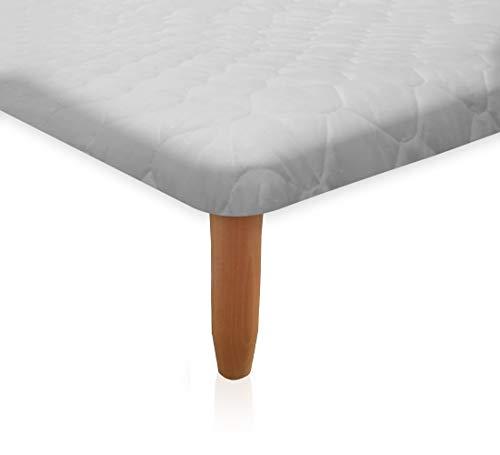 Morflex® - coprirete letto matrimoniale a cappuccio - 190 x 160 in tessuto tnt trapuntato rombo - protect produzione artigianale italiana