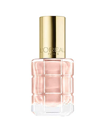 L'Oréal Paris Color Riche Le Vernis Nagellack mit Öl in Nude / Pflegender Farblack in sommerlichem Hellrosa mit Glanz-Effekt /# 116 Café de Nuit / 1 x 14ml - Nail Pop Beauty Polish