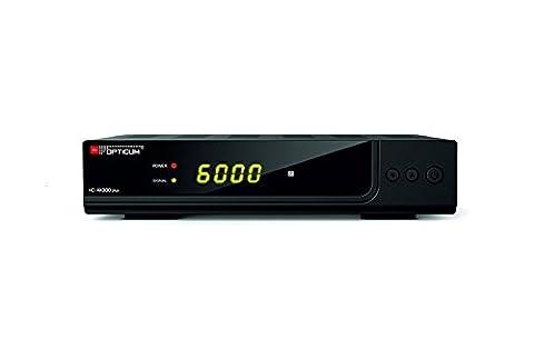 Opticum HD AX300 Plus PVR HDTV-Satellitenreceiver (PVR ready, Full HD 1080p, HDMI, USB, S/PDIF CoXial, Scart)