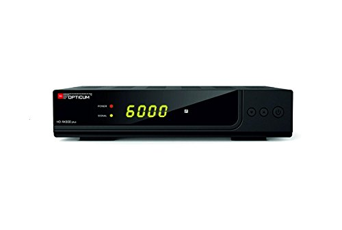Opticum HD X300 PVR HDTV-Satellitenreceiver (PVR ready, Full HD 1080p, HDMI, USB, S/PDIF CoXial, Scart) - Schwarz