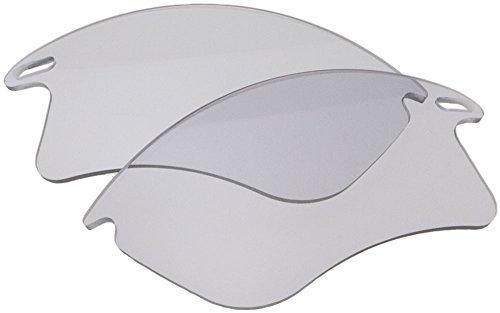 Zero Ersatzgläser für Oakley Fast Jacket XL Sonnenbrille Clear Grey Photochromic