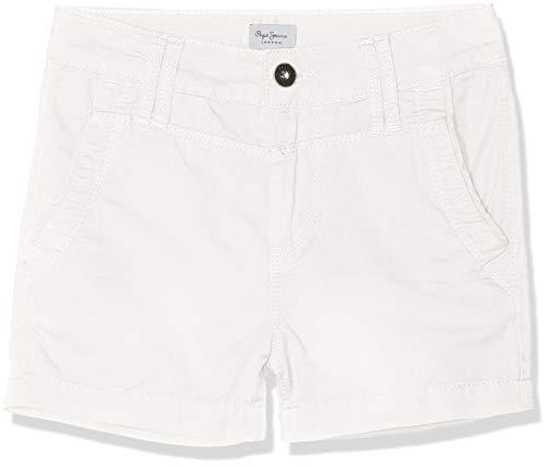 Pepe Jeans Balboa Short Bañador, Blanco Canvas White 810, 13-14 años Talla del Fabricante: 14...