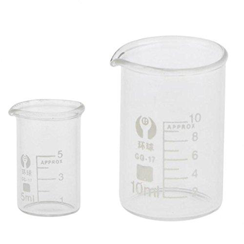 Gebraucht, Almencla Niedrige Form Glas Messbecher Chemie Labor gebraucht kaufen  Wird an jeden Ort in Deutschland