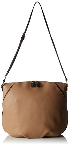 TO BE by Tom Beret, Borsa a spalla donna camel/dunkelbraun