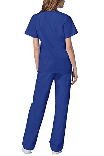 Herren-Schrubb-Set – Medizinische Uniform mit Oberteil und Hose 701_M Color RYL | Talla: M - 5