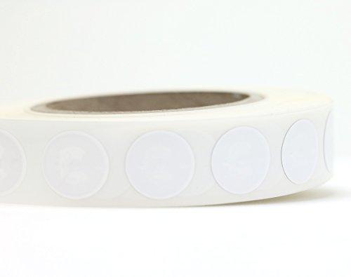 100 NFC Tag Pegatinas, 180 byte, ideal para dispositivos de/Control de perfil (WiFi, Bluetooth, Apps), 22 mm, blanco, 100% compatible