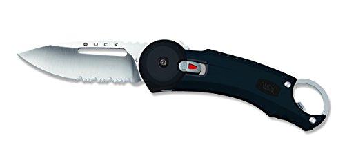 Buck 7750. BK Messer Redpoint Klinge mit Löchern und Zähnen, Edelstahl