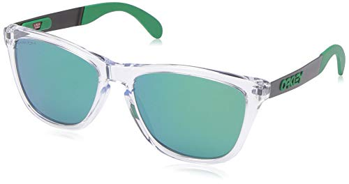 Ray-Ban Herren 0OO9428 Sonnenbrille, Mehrfarbig (Polished Clear), 55
