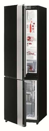 Gorenje NRK-ORA-E-L réfrigérateur-congélateur - réfrigérateurs-congélateurs (Autonome, Bas-placé, A, Noir, SN-T, LED)