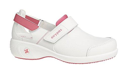 Oxypas Salma, Damen Sicherheitsschuhe, Weiß (fux), 40 EU (6.5 UK)