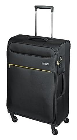 'Trolley Set 3pièces dn6304-Black 55/69/79cm Nylon TSA 4rä.