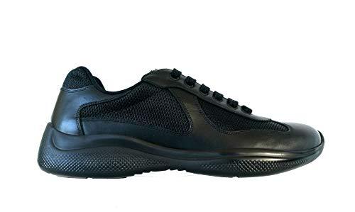 Prada , Herren Sneaker Schwarz Schwarz, Schwarz - Schwarz - Größe: 43 EU