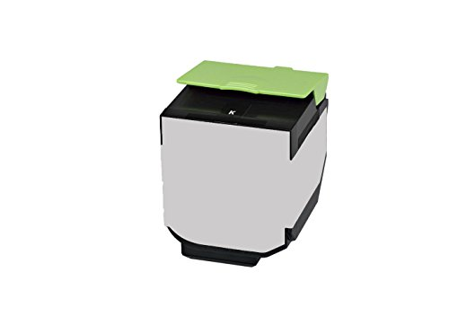 Preisvergleich Produktbild Rebuilt Toner für Lexmark CX 310 410 510 DE DHE DTE DTHE DN E N, schwarz, 2.500 Seiten, ersetzt 80C2SK0