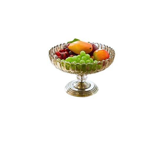 Moderne Minimaliste Résine Sculpture Creative Verre Fruits Plaque Produits Ménagers Décoration Salon Table Basse Artisanat Européen Ornements GAOLILI