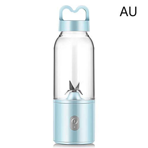 Mini Entsafter Portable 400ml Entsafter Kleiner Haushalt Mini Elektrische Entsafter Flasche Typ Frisches Fruchtpresse, 150W