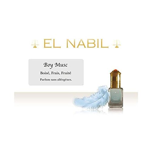 EL NABIL - MUSC BOY 5ml - LOT DE 6
