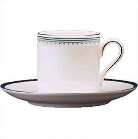 Grosgrain Fine Bone China (Wedgwood Vera Wang Grosgrain-Kaffeetasse 0.08L (Cup Only))