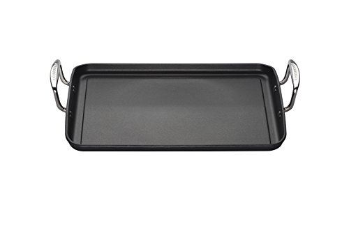 Le Creuset Toughened Non-Stick Flat Rectangular Grill - 35 cm