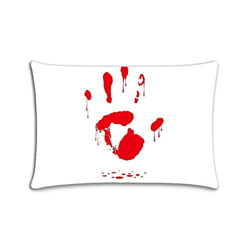 rint Zippered Pillow Cases Pillow Cover 20x30 Two Side Print ()