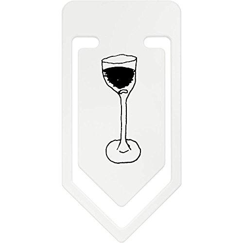 Wein Riesige Gläser (141mm 'Glas Wein' Riesige Plastik Büroklammer (CC00024532))