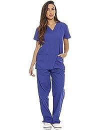 Amazon.it  divisa infermiere - Sanitari   Abbigliamento da lavoro e ... d767d839c6b9